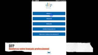 français 3.0, l'application du Centre de langue française - TEF / DFP / FOS