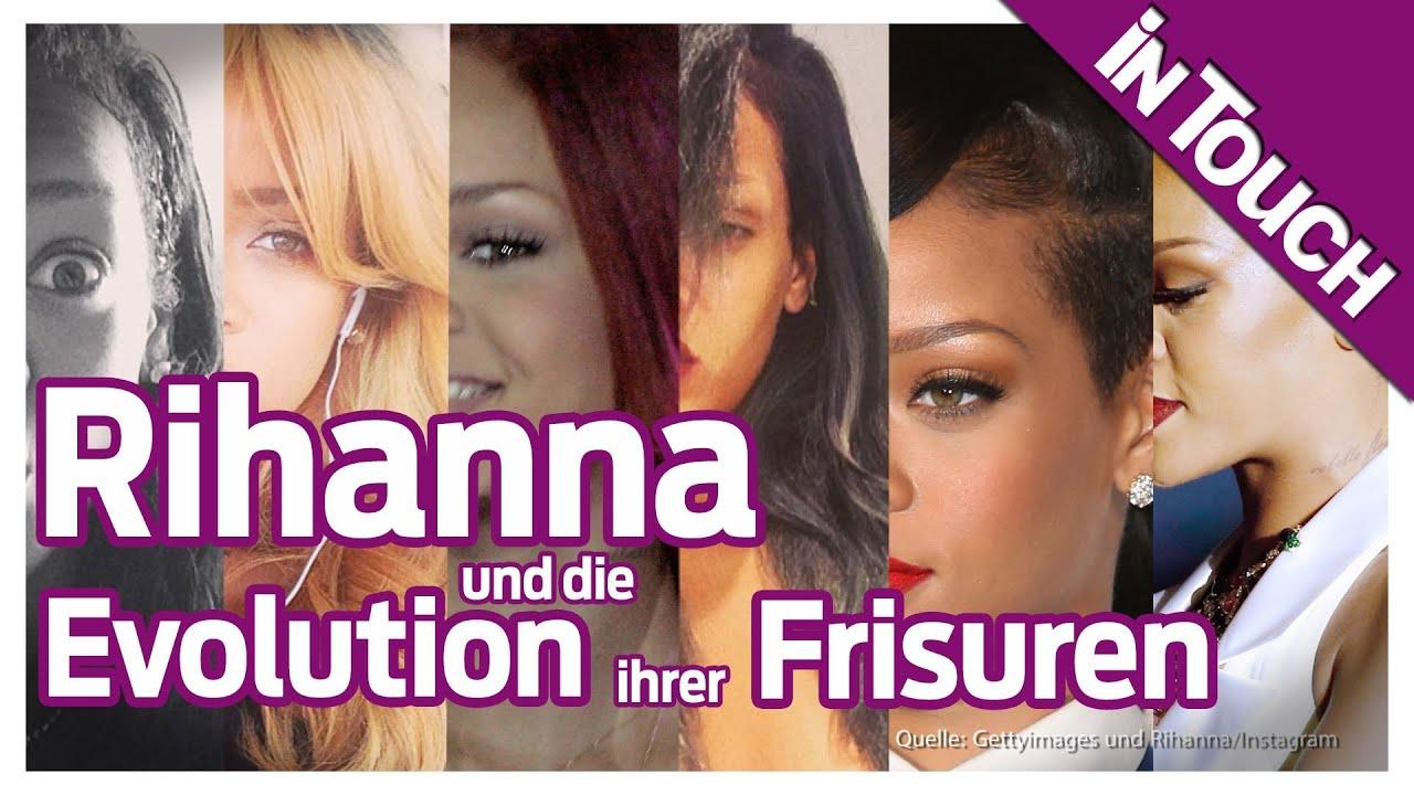 Rihanna Neue Haare! Die Evolution Ihrer Verrücktesten Frisuren