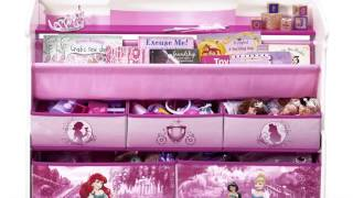 Delta Children Princess Deluxe Book And Toy Organizer Review