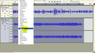 Audacity Tutorial Part 5: Simple Mixing Music with Voice