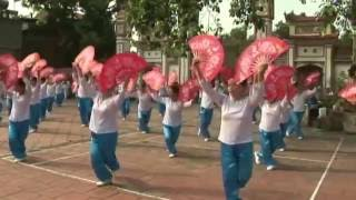 Múa Bài ca dâng Bác đơn vị Trung Nghĩa-Yên Phong-Bắc Ninh (2016)