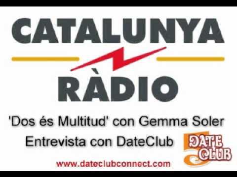 DateClub - Entrevista con Catalunya Radio (en Catalan)