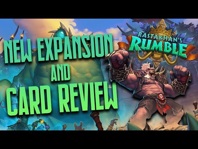 New Expansion Rastakhans Rumble & Card Review | Hearthstone