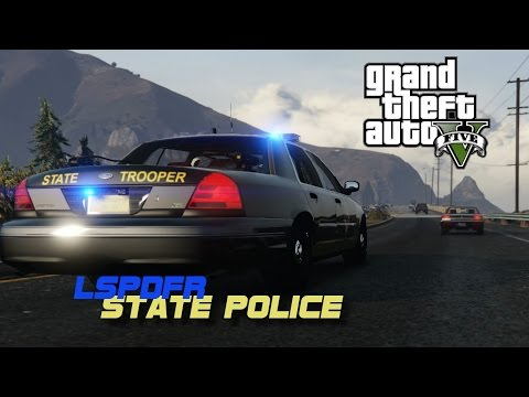 MARYLAND STATE POLICE PATROL 1 MSP LSPDFR
