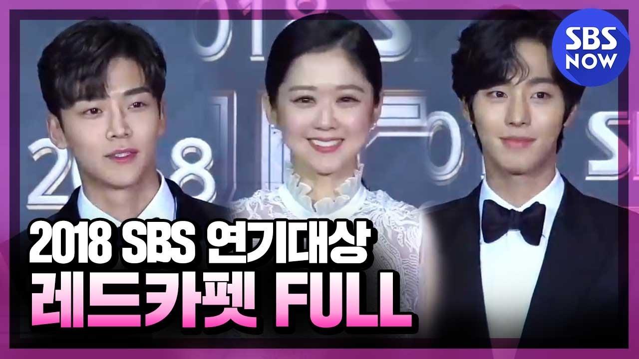 SBS [2018 연기대상] - 레드카펫 라이브 / 2018 SBS Drama Awards Red Carpet Live