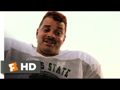 Necessary Roughness (1/10) Movie CLIP - Andre's a Vegetarian (1991) HD