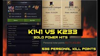Clash Of Kings - K233 vs K141