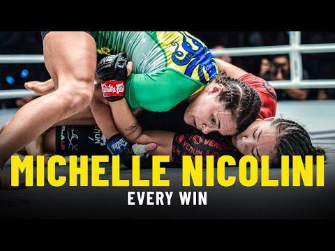 Every Michelle Nicolini Win   ONE Full Fights