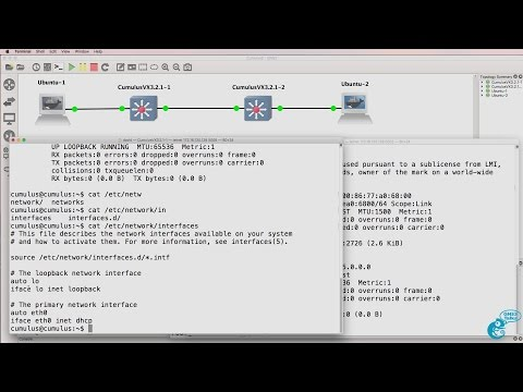 GNS3 Talks: Learn Linux with Cumulus Linux and GNS3 (Part 1). Ideal for networkers to learn Linux.