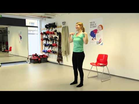 Turun yliopisto ja YTHS: Istu vähemmän, voit paremmin. Taukojumppa 2 - Bottoms up break exercise