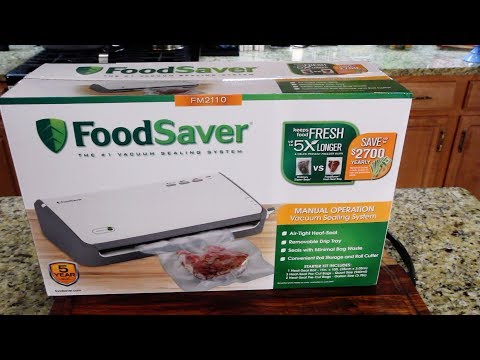 FoodSaver FM2110 - Product Review