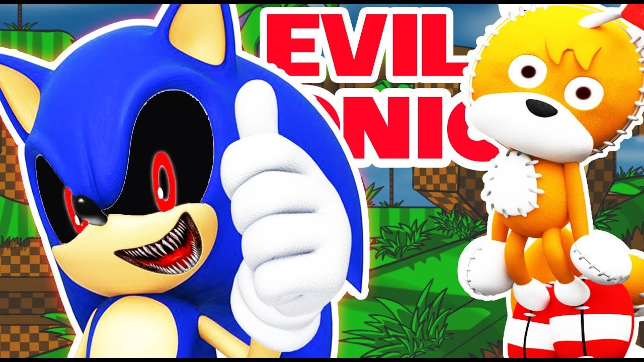 Evil Sonic and Tails Doll