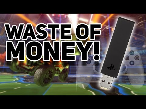 WHY DID THEY MAKE THIS??? - Dualshock 4 USB Wireless Adapter Review (PS4)