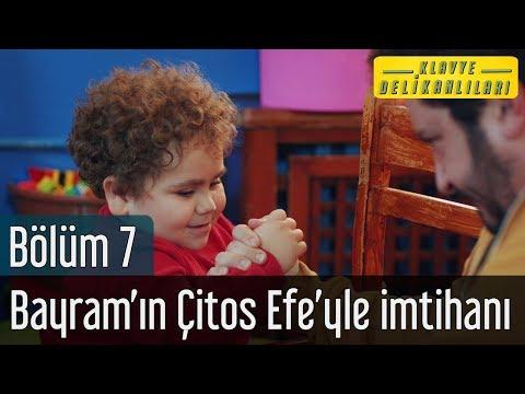 Klavye Delikanlıları 7. Bölüm - Bayram'ın Çitos Efe'yle İmtihanı