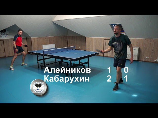 Кабарухин Владимир - Алейников Василий Турнир Панорама Весна 2020
