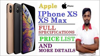 iPhone XS and XS Max review || Price list ||  begin in India