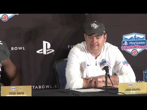 FULL SOUND | UCF head coach Josh Heupel, players reflect on loss to LSU in the Fiesta Bowl