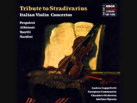 Early Violin Concertos: Albinoni, Nardini, Pergolesi, Torelli