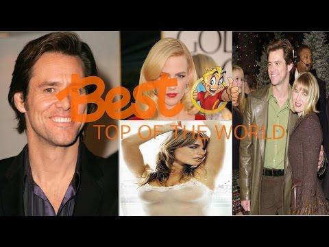 Best Top Of The World Jim Carrey's Loves & Hookups