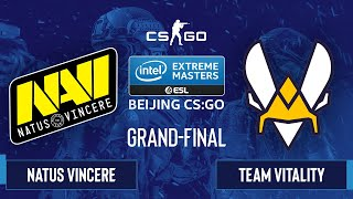 CS:GO - Natus Vincere vs. Team Vitality [Overpass] Map 3 - IEM Beijing 2020 Online - Grand-Final - E