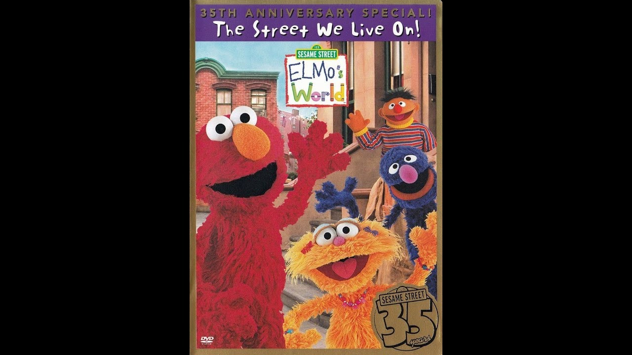 Opening To Elmo's World The Street We Live On 2004 DVD