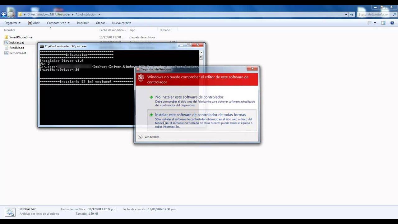 Скачать драйвер mt65xx preloader для windows 10