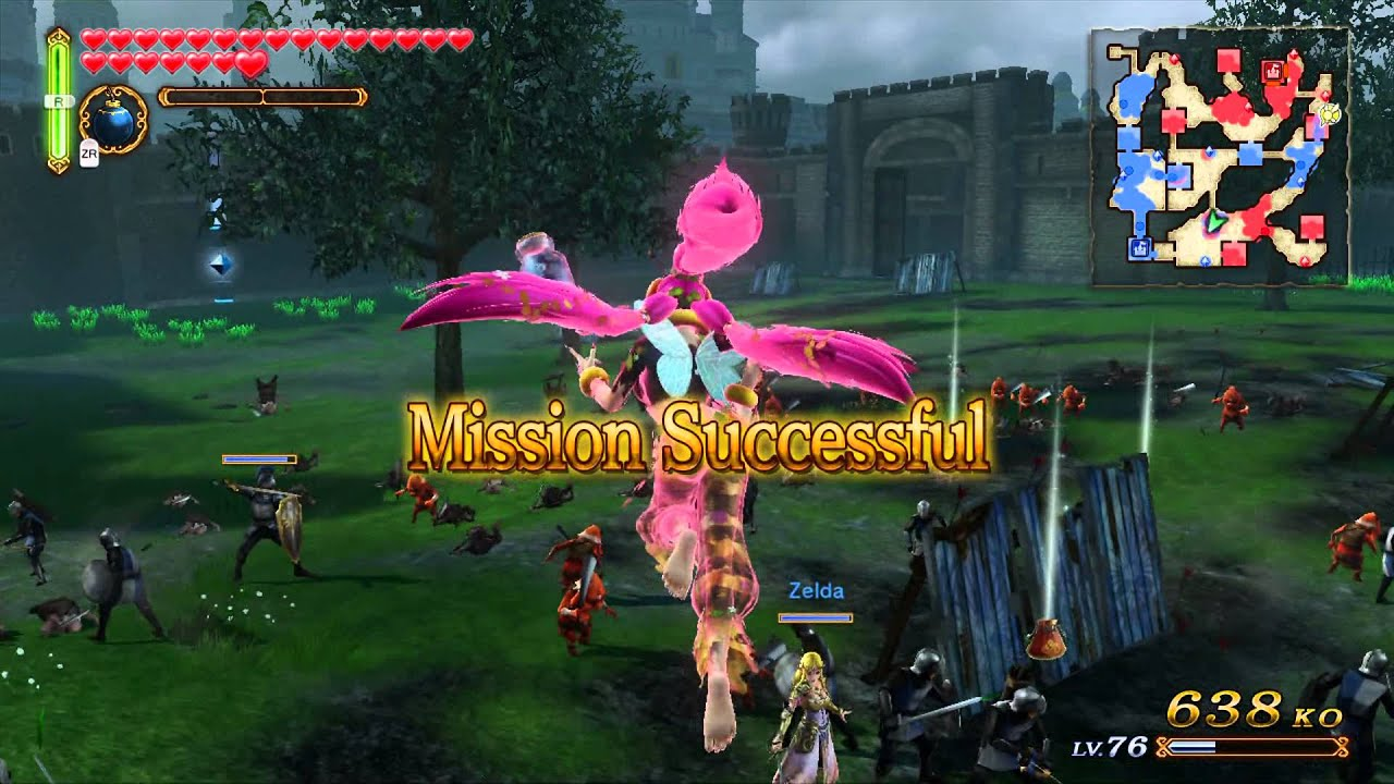Hyrule Warriors Holy Crap Great Fairy Is Op Youtube
