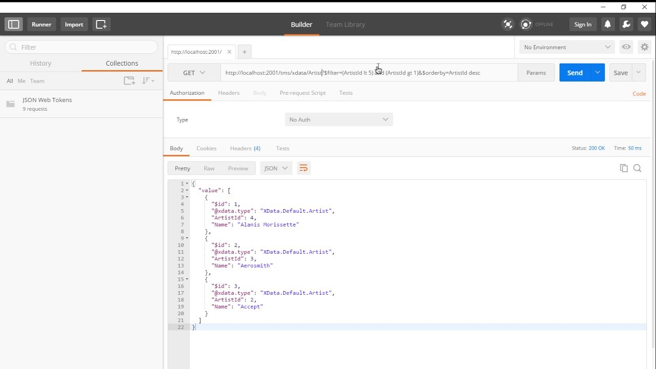 TMS XData for Delphi: Features of Rest/JSON Server, filter, orderby, PUT,  POST (Intensive Delphi)