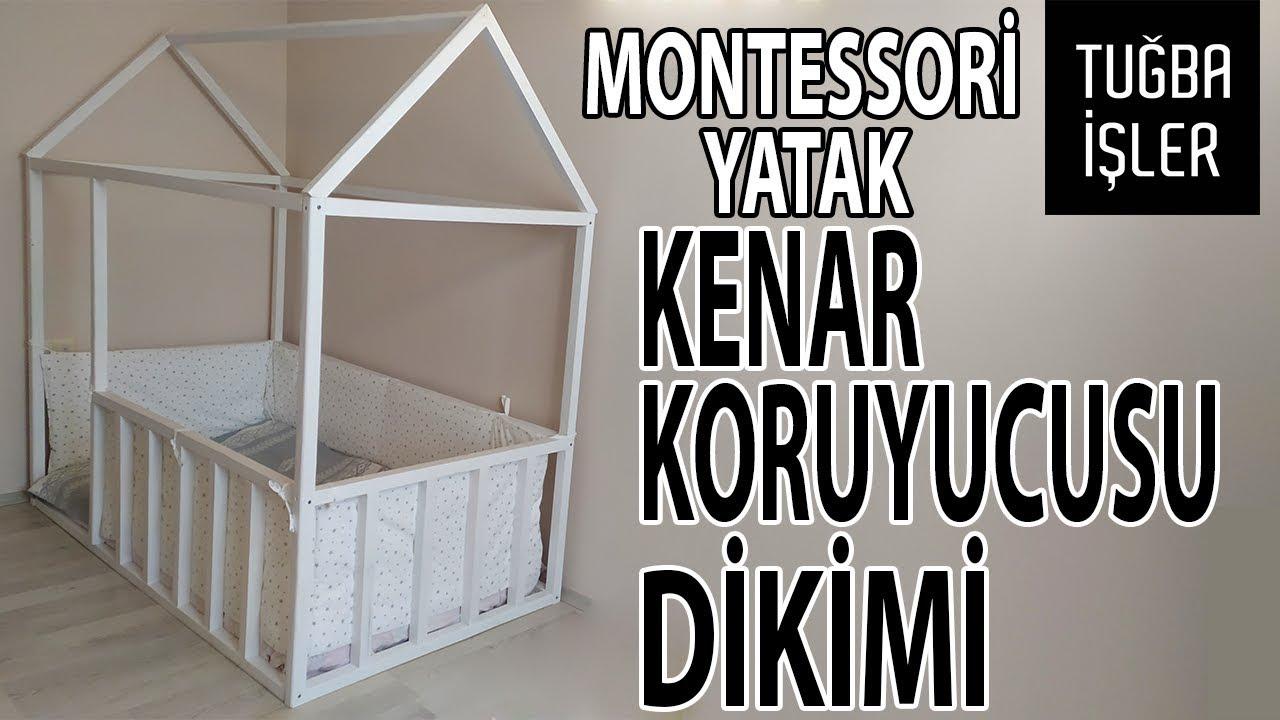 Montessori Yatak Kenar Koruyucusu Dikimi Bebek Besigi Yan Koruma Minderi Yapimi Tugba Isler Youtube