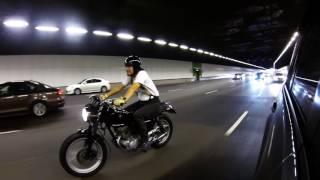honda cm125 city ride with my baby thrux