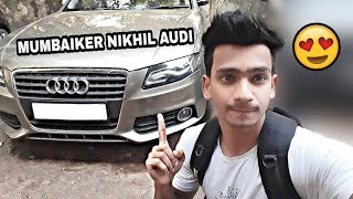 I FOUND MUMBIKER NIKHIL AUDI AT HIS HOUSE | MUMBIKER NIKHIL CAR | MUMBIKER NIKHIL ADDRESS |