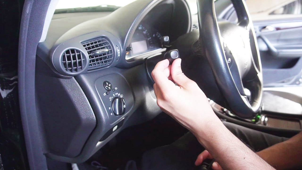 Mercedes Benz Replace Combination Turn Signal Switch