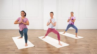 35-Minute Pure Joy Yoga, Cardio, & Meditation Session