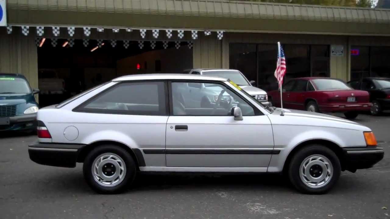 Ricks Auto Sales >> 1989 FORD ESCORT SOLD!!! - YouTube