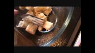 Acorn Banana Cake (using oak nut flour)