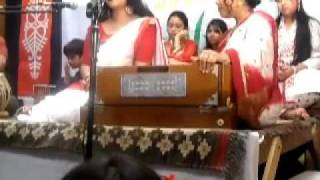 Aji Godhuli Logone - Nourin Pohela Boishakh Bangla School of Music.wmv