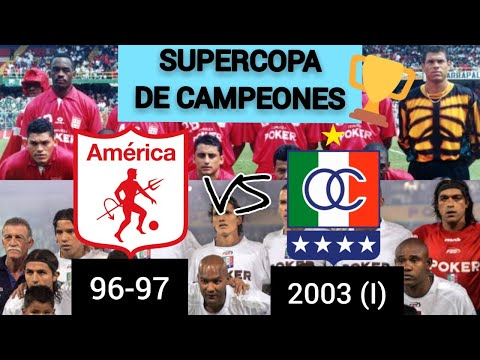 SUPERCOPA DE CAMPEONES: AMERICA 96-97 VS ONCE CALDAS 2003 (I) - OCTAVOS DE FINAL