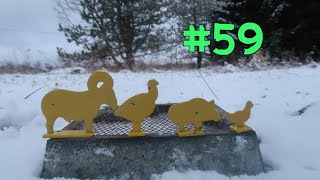 Target Practice Tuesday EP #59 Mini Metal Targets (Turkey, Chicken And Wild Boar)
