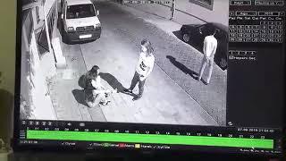 3 kız çocuğundan birini kaçırmak isteyen şahıs kovalamaca ile yakalandı