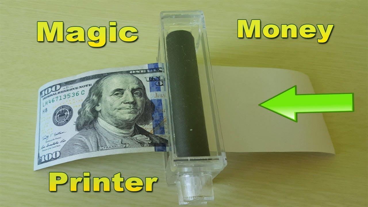 HOW TO MAKE MONEY !!! MONEY PRINTER MACHINE PRINT MONEY ...