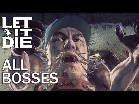 Let It Die: All Bosses and Ending (1080p)