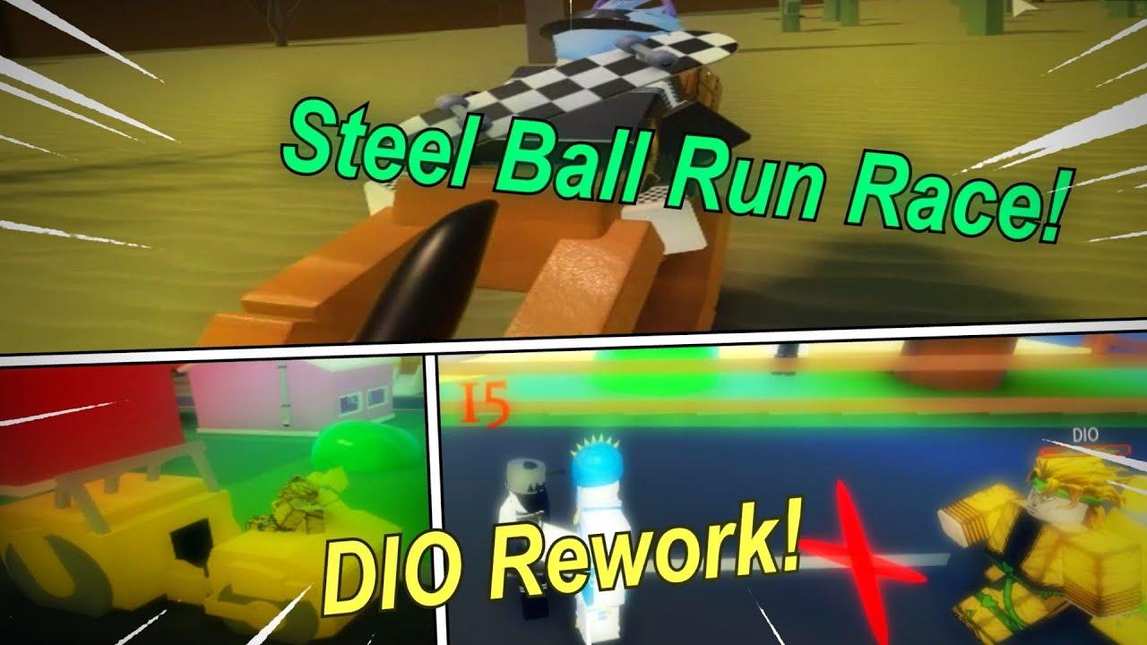 Steel Ball Run and Dio Rework! | [A Bizarre Day Sneak Peeks]