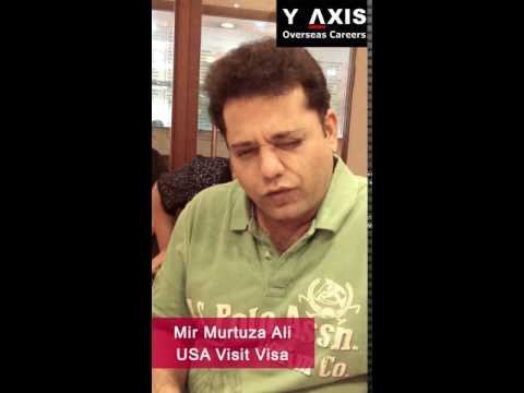 Mir Murtuza Ali  USA Tourist Visa  Aarti