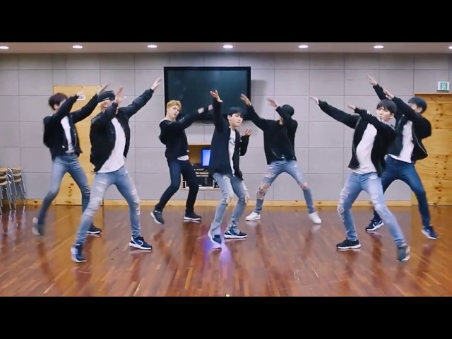 Monsta X 'Beautiful' mirrored Dance Practice