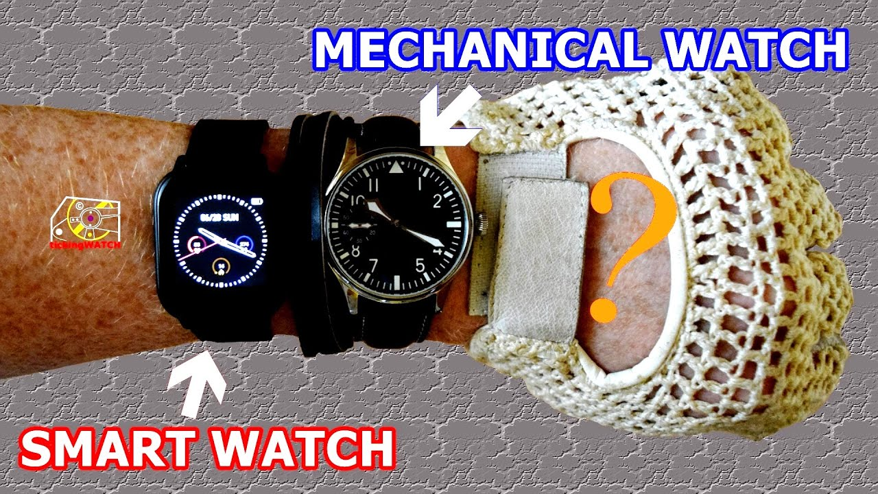 What is better mechanical watch or smart watch?