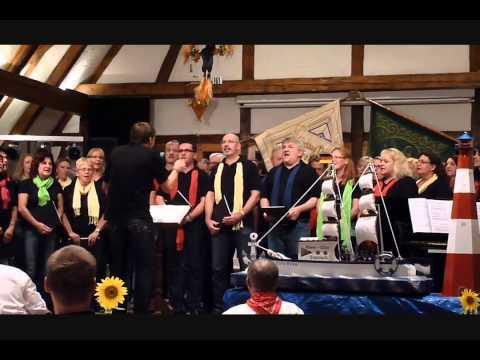 Projektchor Gruol beim Auftritt in Bierlingen 2013