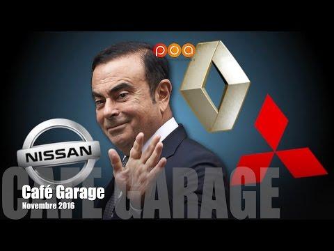 Volvo S90, route solaire, Solar City, Renault-Nissan-Mitsubishi et Ghosn - Café Garage nov. 2016