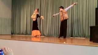 Замечательный танец кота Базилио и лисы Алисы