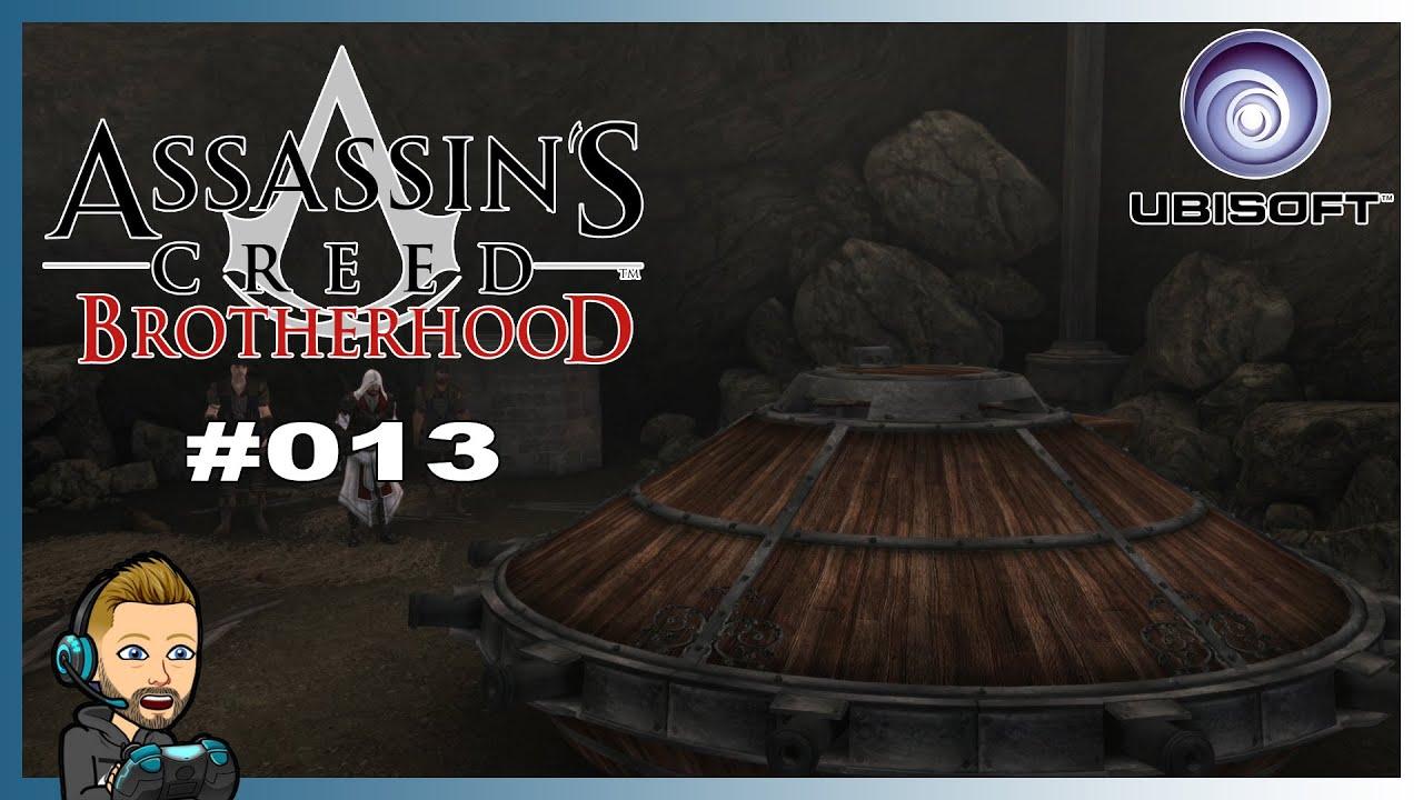 """[WIR SBIELA""""EN""""] ASSASSINS CREED BROTHERHOOD [REMASTERED] 🪓 [013] - [ASSASSINEN BOMBER] ❌"""