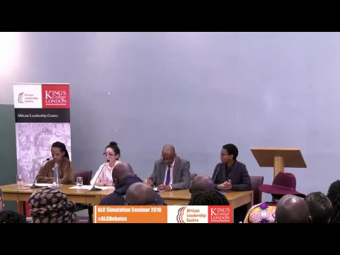 African Leadership Centre Live Stream